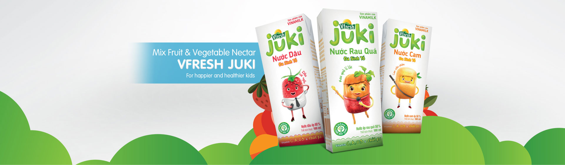 Vfresh Juki multi-vitamin juices