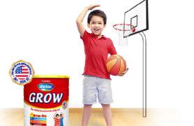 Dielac Grow được chứng nhận lâm sàng giúp trẻ phát triển chiều cao vượt trội