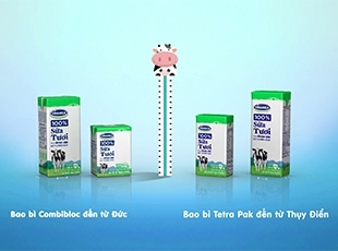 How to distinguish 2 types of Vinamilk packaging